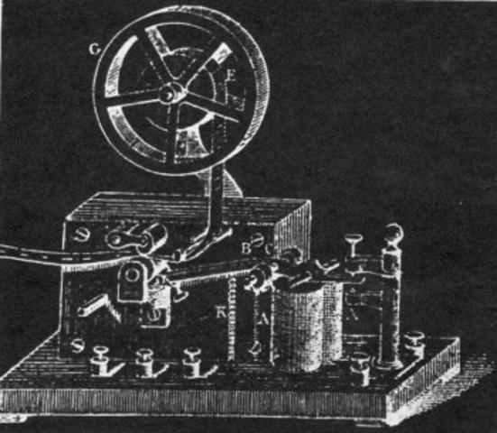 Primer telégrafo electromagnético