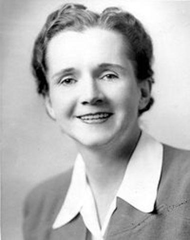 Rachel Carson Writes About Enviromental Damages