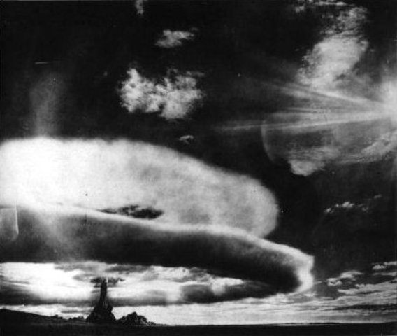 Soviets explode their first atomic bomb.