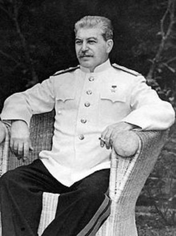 Stalin elected General Secretary of the Communist Party