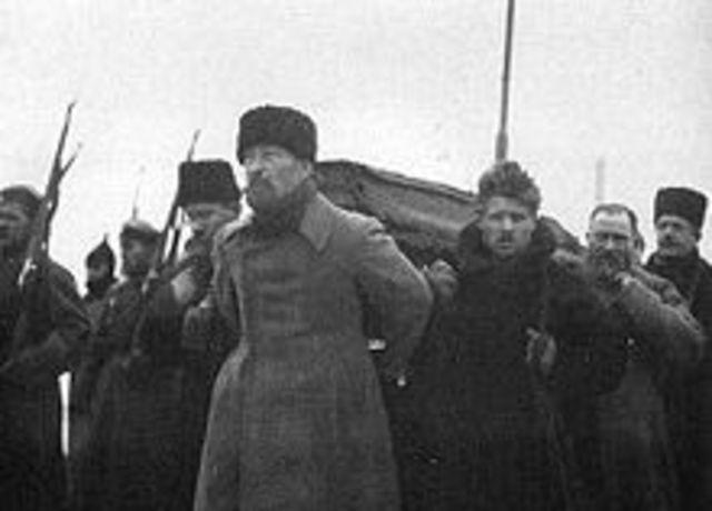 Death of Lenin