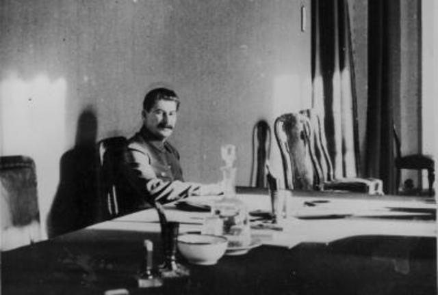 Plots against Stalin