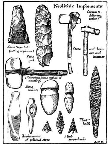Neolithic Period (c 5,500 – c 2,500 B.C.)