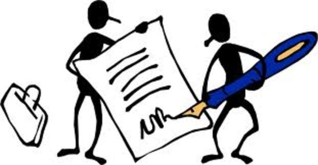 Ο Νιέπς και ο Νταγκέρ υπογράφουν ένα συμβόλαιο συνεργασίας