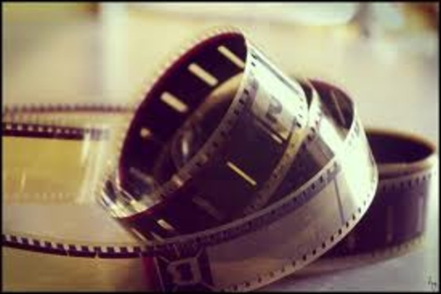 H πρώτη κινηματογραφική προβολή.