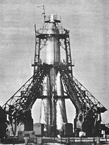 Sputnik is launched by USSR