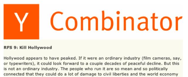 Y Combinator & Startup Island