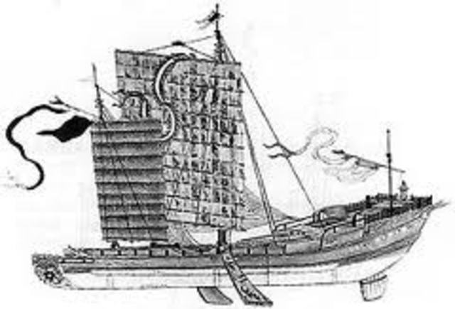 Chinese vessels (1200-1500 A.D.)