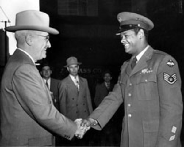 Truman Meets with Civil Rights Leaders