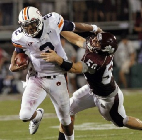 #21 Auburn defeates Mississippi State 17-14