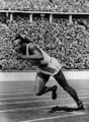 Jesse Owens Wins Gold in the Nazi Olympics