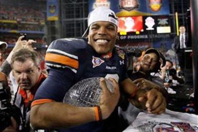 #1 Auburn defeates #2 Oregon 22-19 in BCS national championship