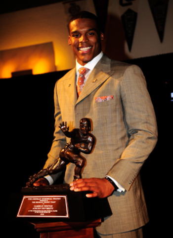 Cam Newton Wins Heisman