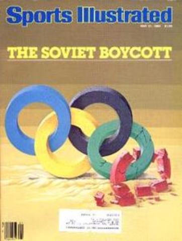 Eastern Bloc Boycotts Los Angeles Games