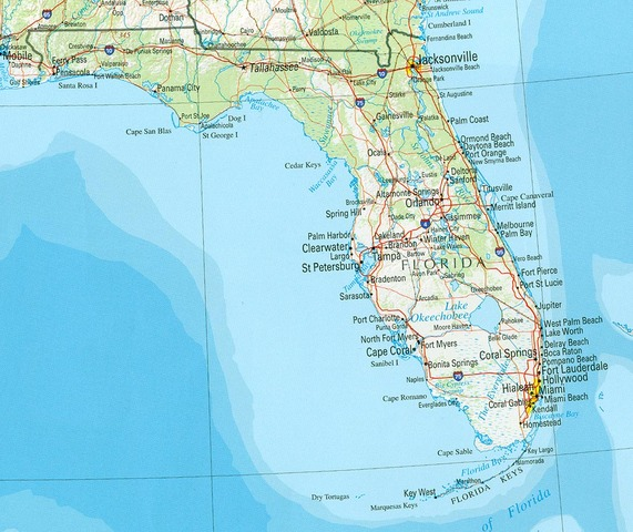 Florida and Florida Current discovered