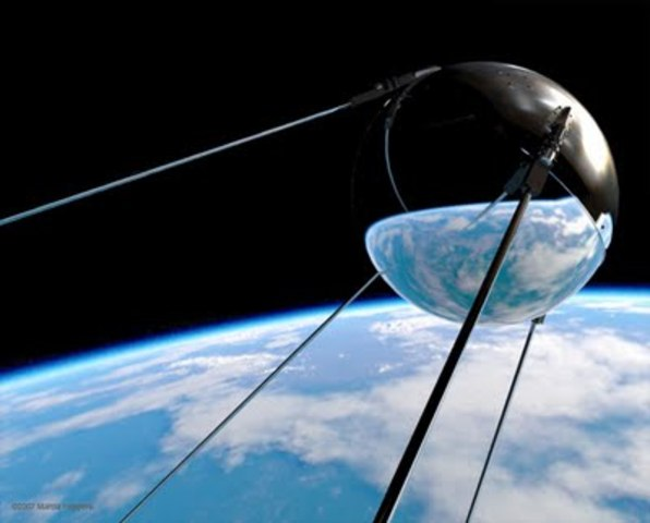 First Satellite in Space (Sputnik)