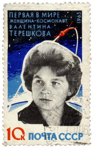 Valentina - the First Woman in Space