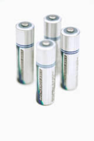 Markets his alkaline storage battery