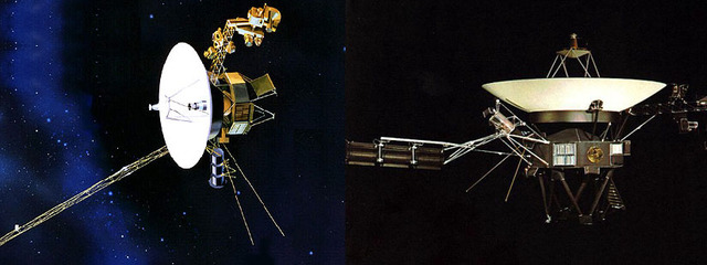 Voyager 1 and 2 Launched