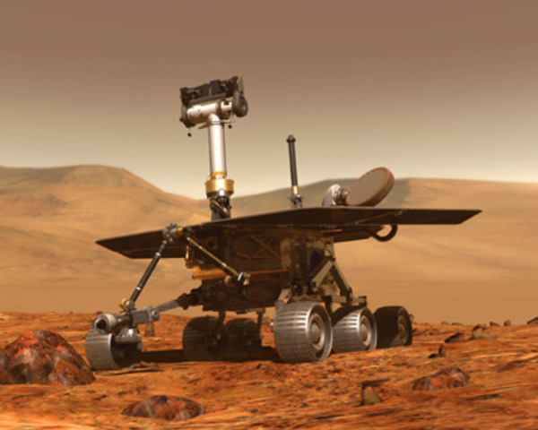 Spirit and Opportunity Land On Mars