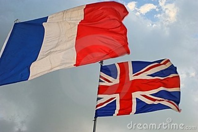 French and British Ties Strengthen