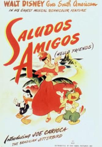 Saludos Amigos was released