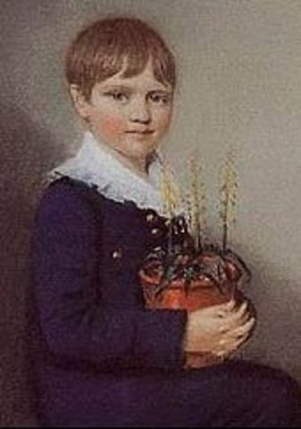 Nace charles Darwin en Shrewsbury, Inglaterra