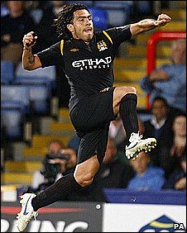 First Man City Goal