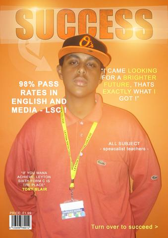 Prelimenary Task on a College magazine (LSC)