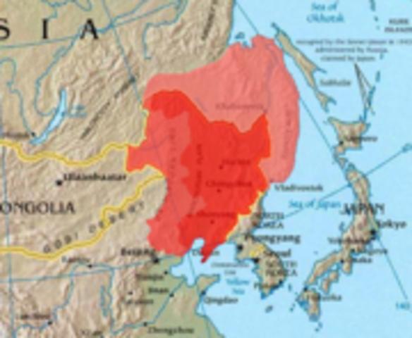 Japanese Invasion of Manchuria on 19 September 1931