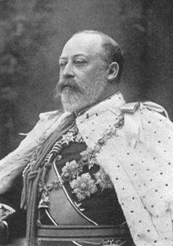 Edward VII becomes King
