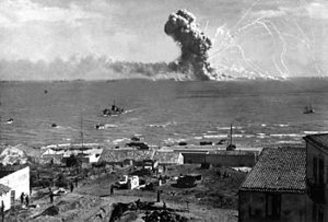 Invasion of Sicily on 9 July 1943