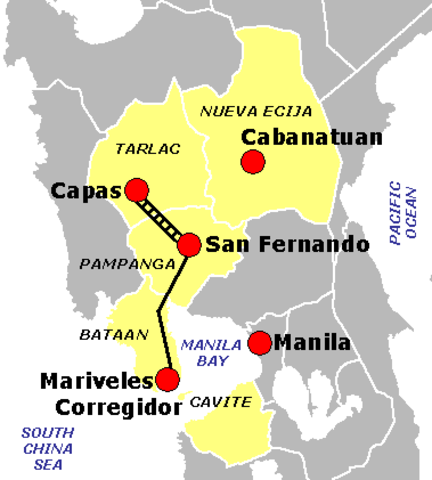 Bataan Death March 3 April 1942