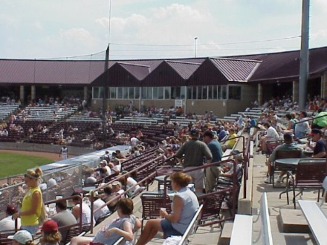 I went to A Timber Rattler Baseball game.
