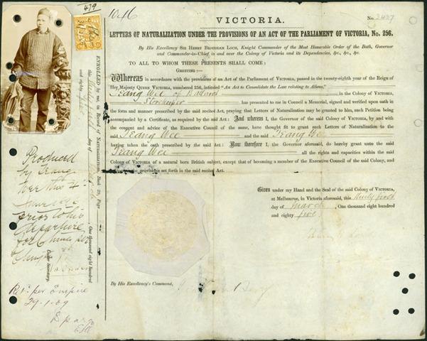 1851 Victoria became a colony