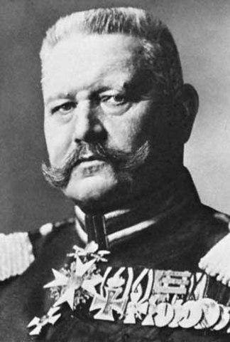 Hindenburg's Death