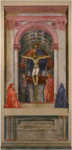 Trinity With the Virgin, St. John the Evangelist, and Donors