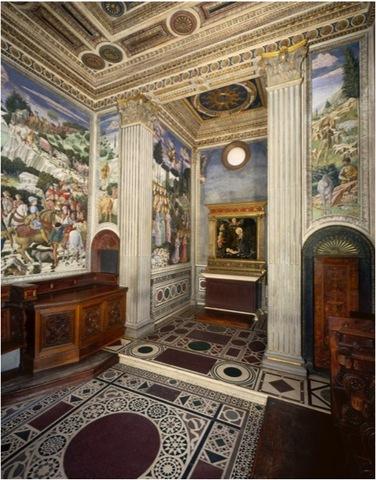 Medici Chapel, on piano nobile