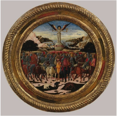 Birth Tray (Desco da Parto) of Lorenzo de' Medici