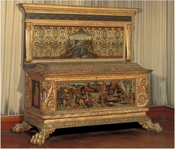 Cassone Made for the Marriage of Lorenzo Morelli and Vaggia Nerli