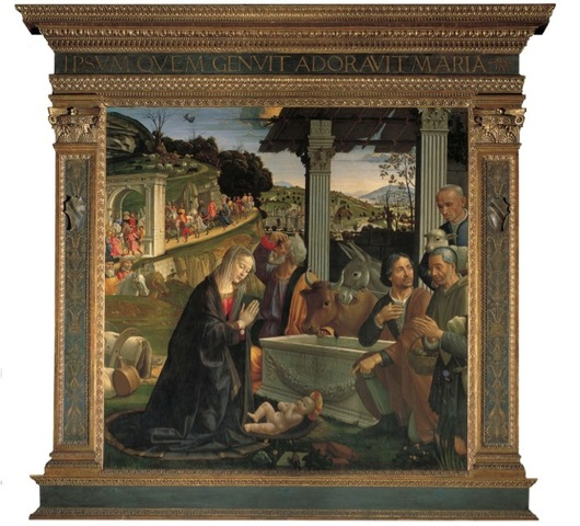 Altarpiece With Nativity and Adoration of the Shepherds
