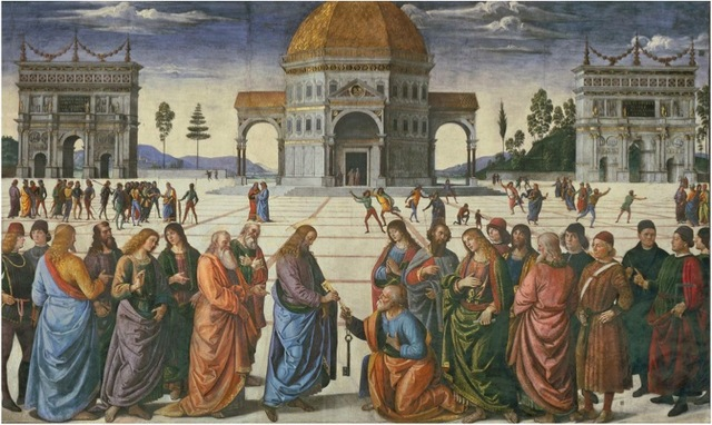 The Delivery of the Keys To St. Peter