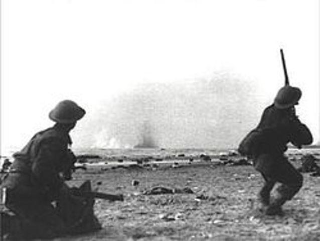 Dunkirk Evacuation ( Battle of Dunkirk) 26 May- 4 June 1940