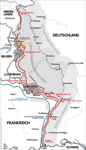 Siegfried Line 1938-1940