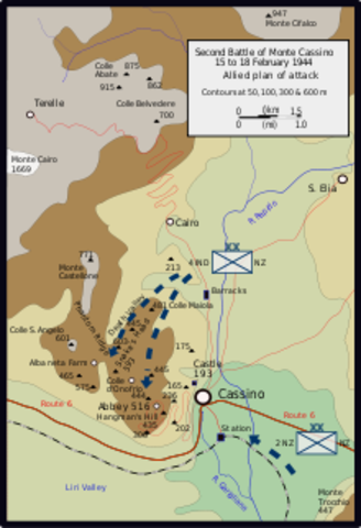 The Battle of Monte Casino 17 January 1944 – 18 May 1944