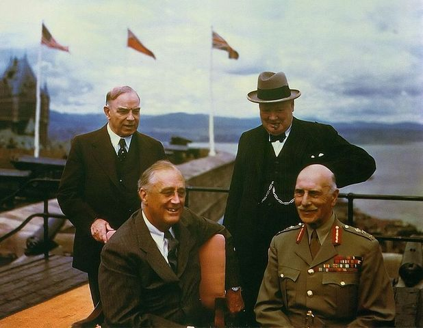 Quebec Conference 17 August 1943