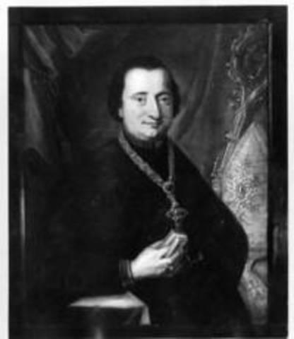 Der letzte Siegburger Abt vor der Säkularisation, Abt Johann IV. von Speyert zu Woerden