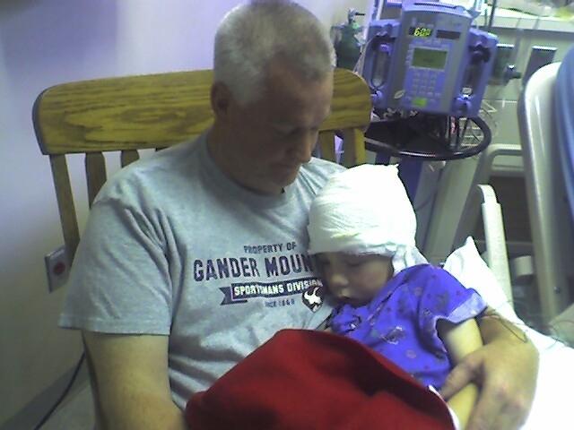 My brother had brain surgery