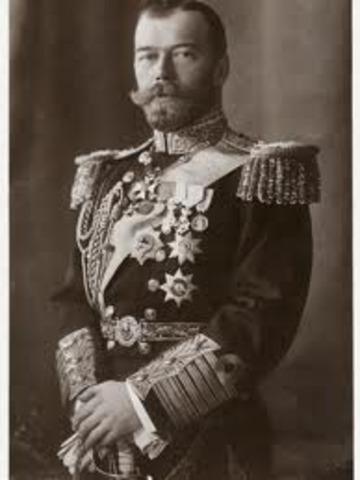 Czar overthrown