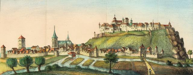 Abt Bertram von Bellinghausen nimmt am Reichtstag in Regensburg und an den Friedensverhandlungen zur Beendigung des Dreißigjährigen Krieges teil (1645)